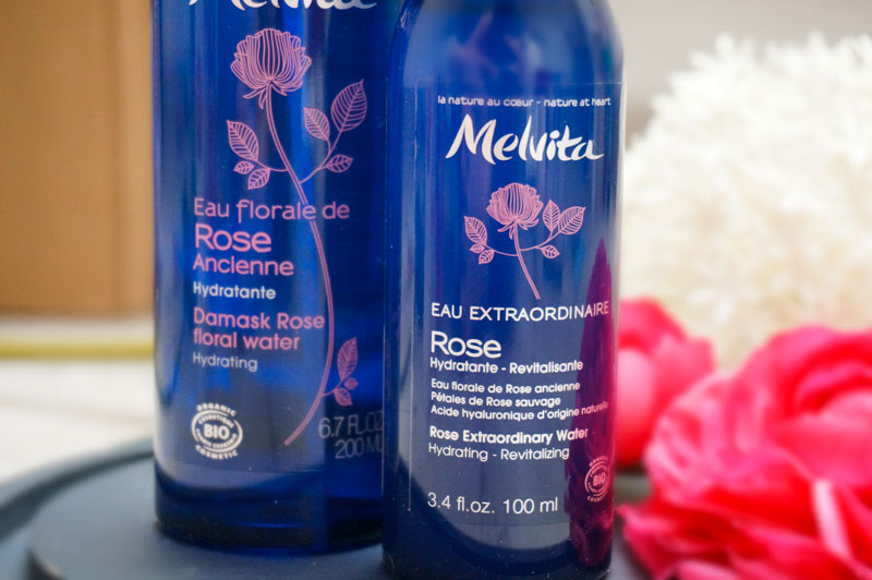 Melvita routine bio rose