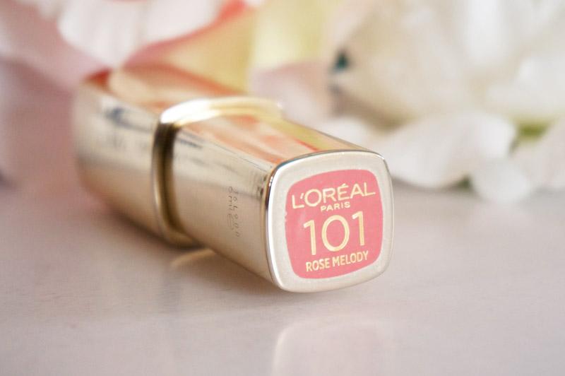 L'Oréal Paris - Laque à lèvres Brillance Color Riche Extraordinaire 101 Rose Melody