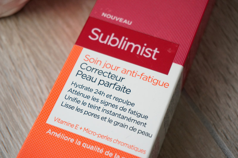 Soin anti-fatigue Sublimist de l'Oréal