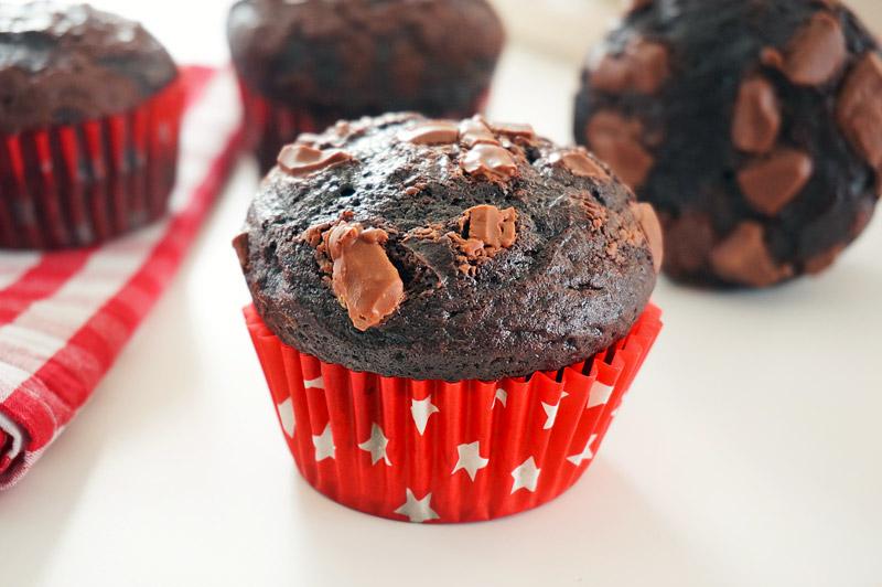 muffins chocolat cacao