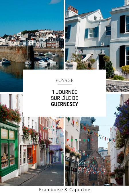1 journée de visite à Guernesey