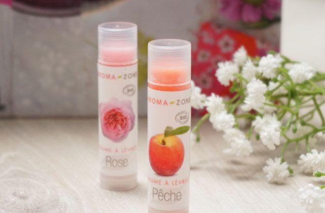 aroma-zone baume à lèvres bio