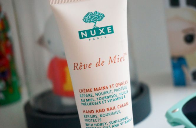 crème mains et ongles Rêve de miel de Nuxe