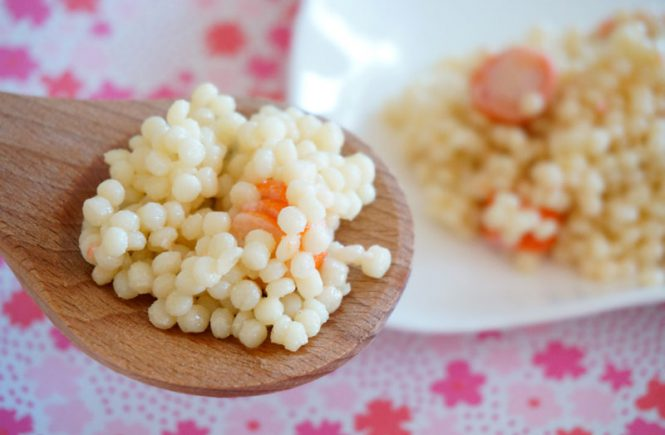 Salade de pâtes perles océane