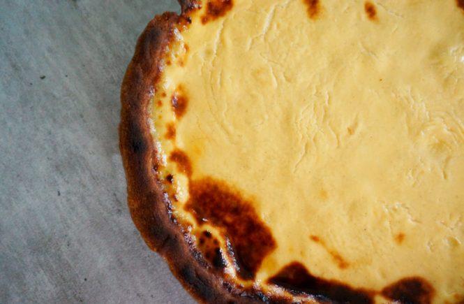 Tarte à la crème brûlée
