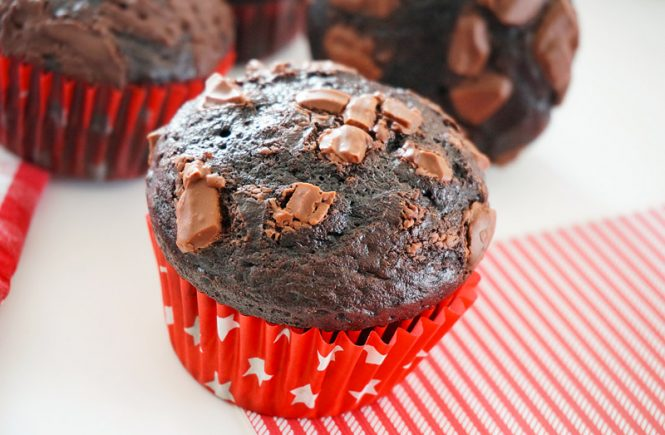 muffins chocolat cacao