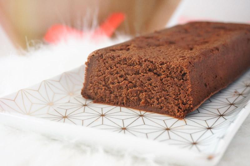 Cake Fondant Au Chocolat Sans Beurre A La Compote De Pommes
