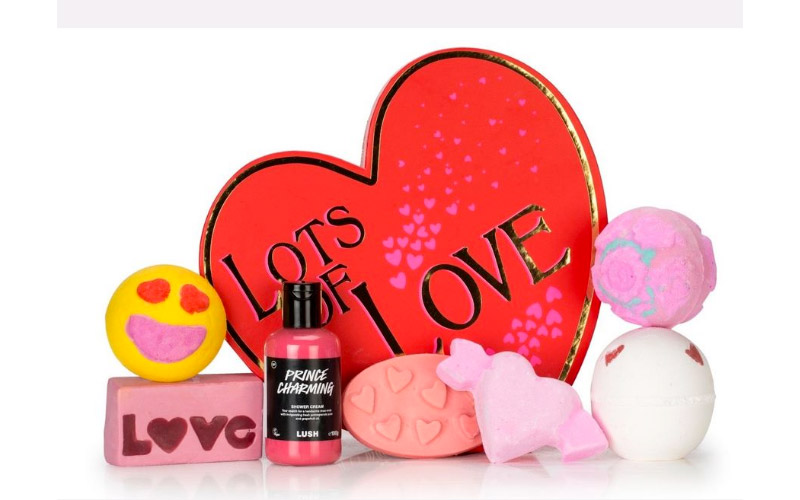 maquillage saint valentin 2017 Lush