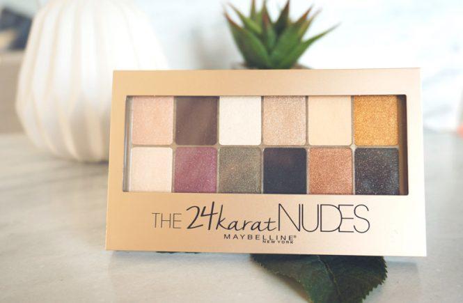 The 24karat nudes Maybelline
