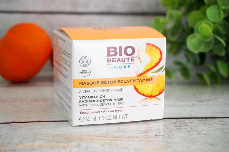 masque detox vitamine Bio Beaute by Nuxe