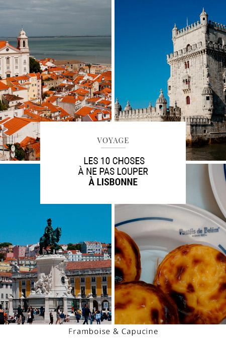 Lisbonne week-end les incontournables