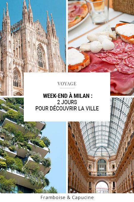 Milan week-end 2 jours pour découvrir la ville et ses incontournables