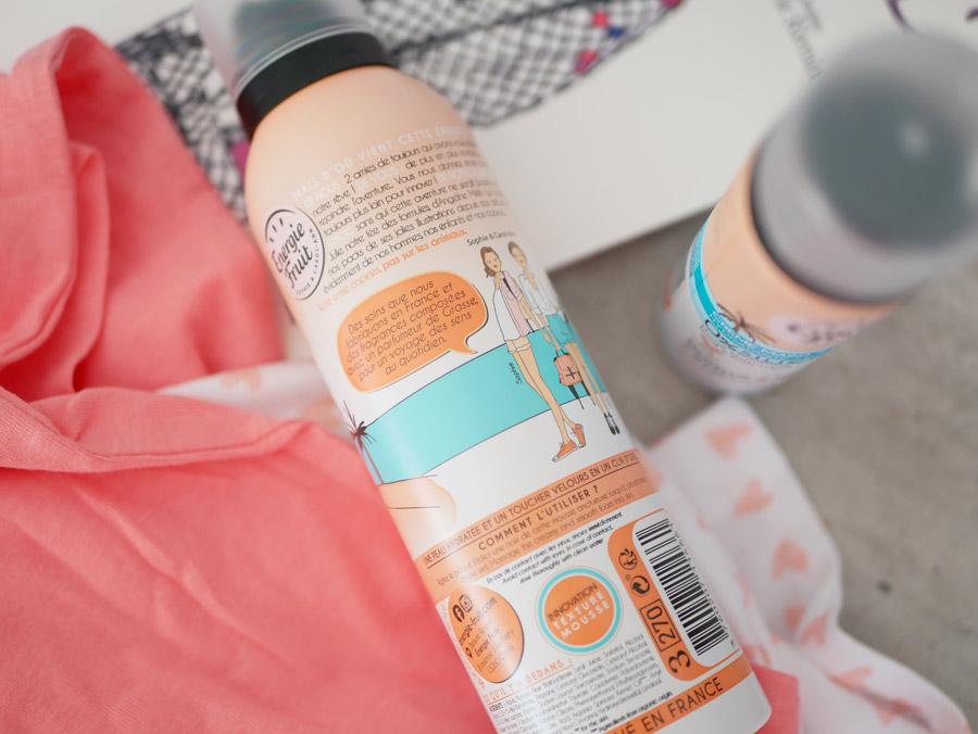 mousse hydratante énergie fruit