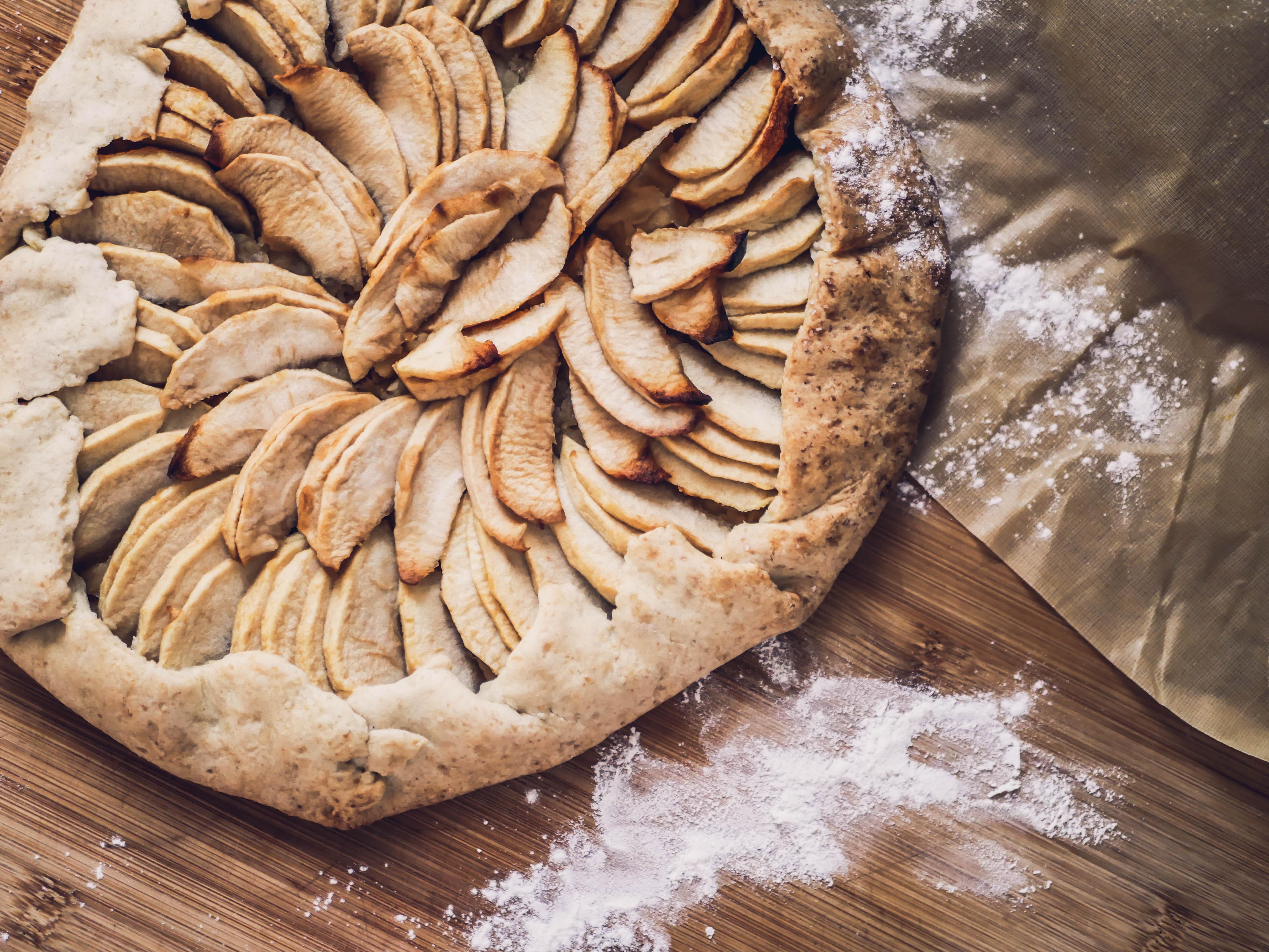 Tarte rustique aux pommes