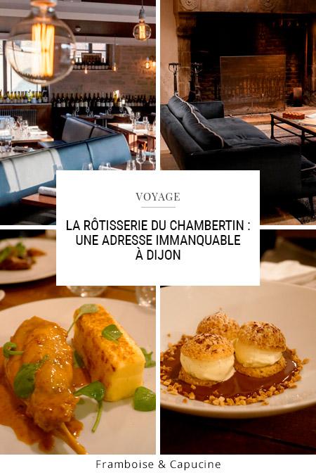 Rôtisserie du Chambertin à Dijon