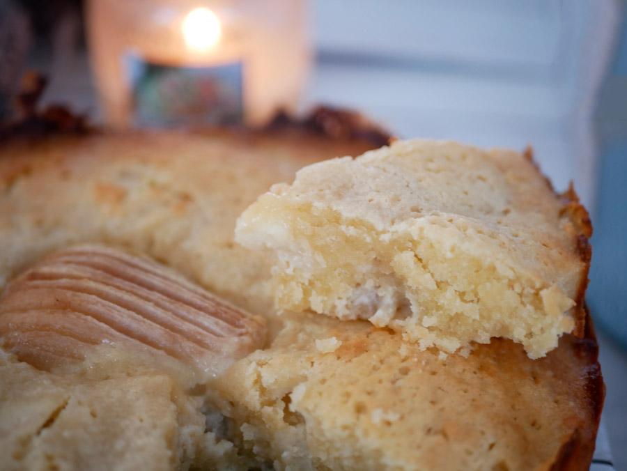 Gâteau aux poires et aux amandes