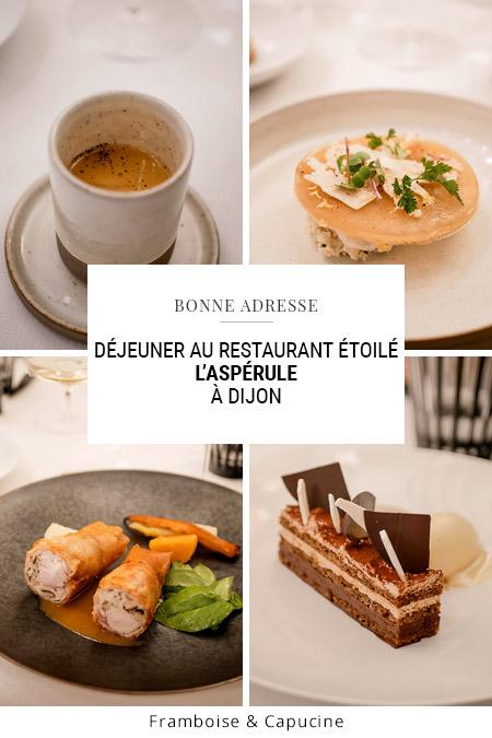 Dijon restaurant l'Aspérule