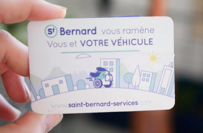 Saint Bernard Services transport voiture personne