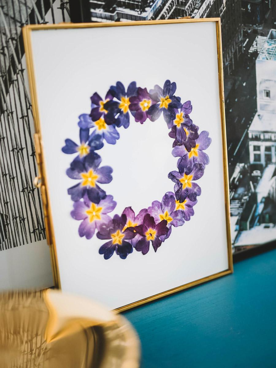 DIY herbier fleurs