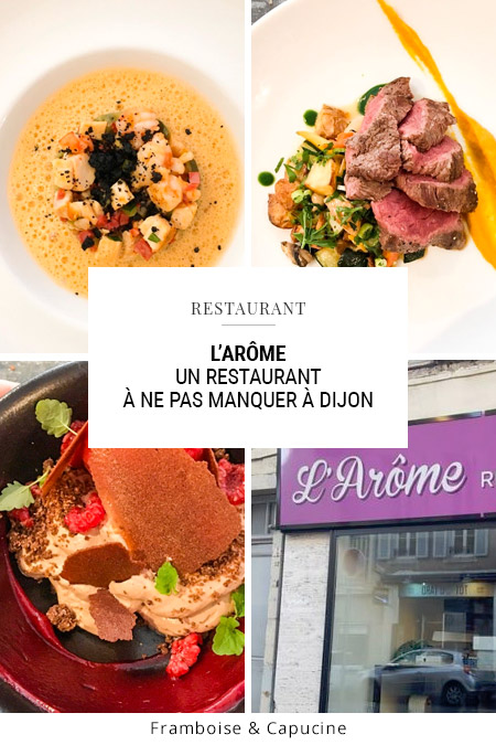 L'arôme restaurant à Dijon