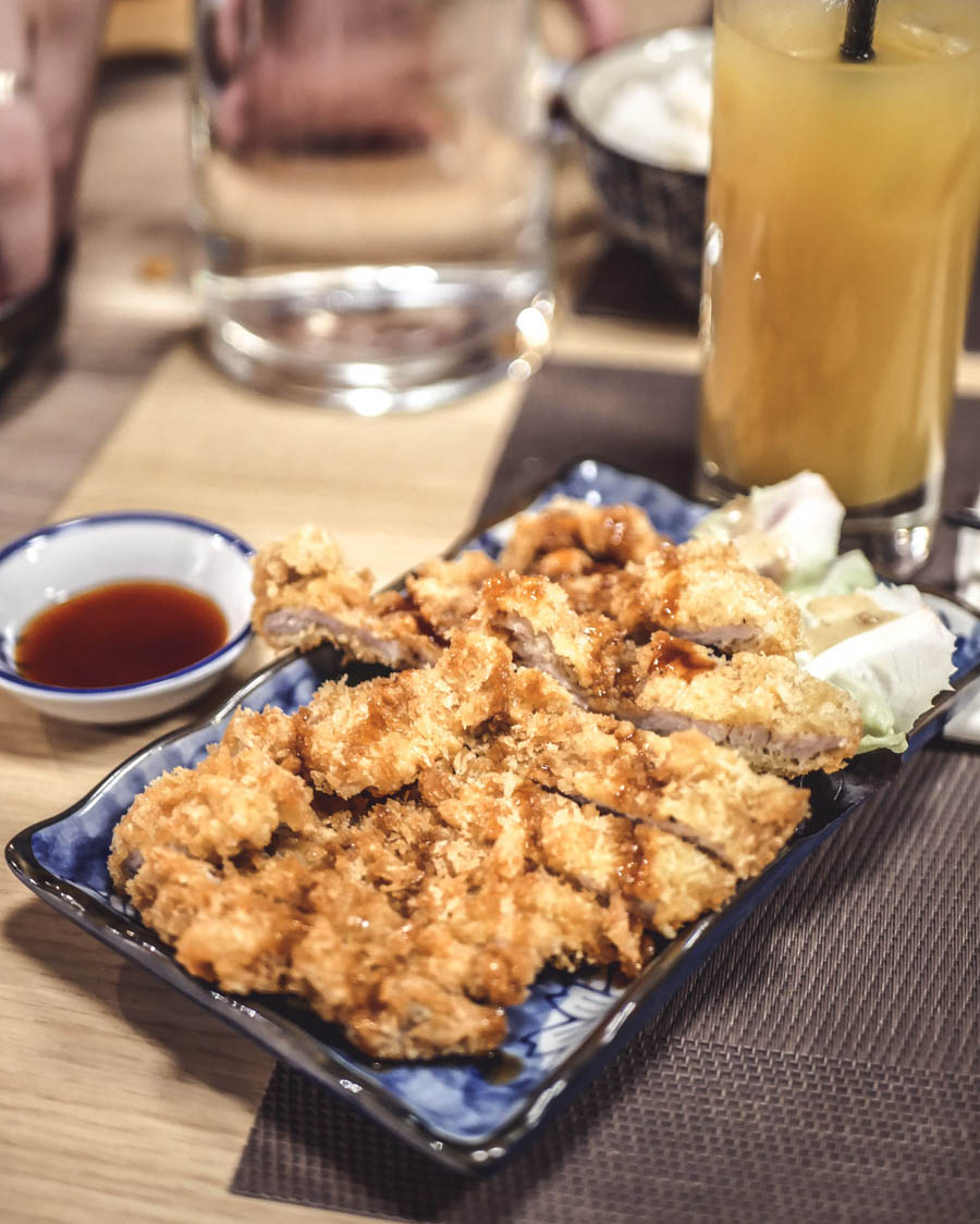 Akatsuki Dijon Tonkatsu porc pané frit