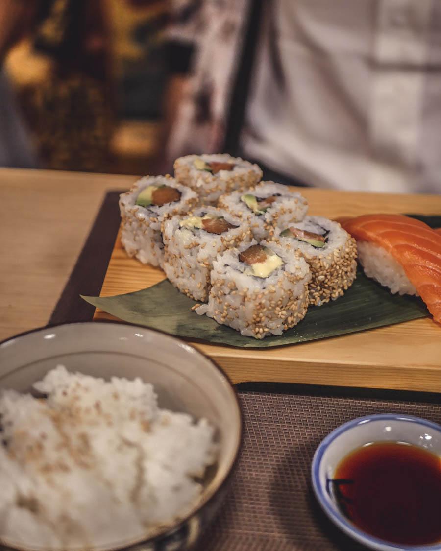 Akatsuki Dijon sushi saumon