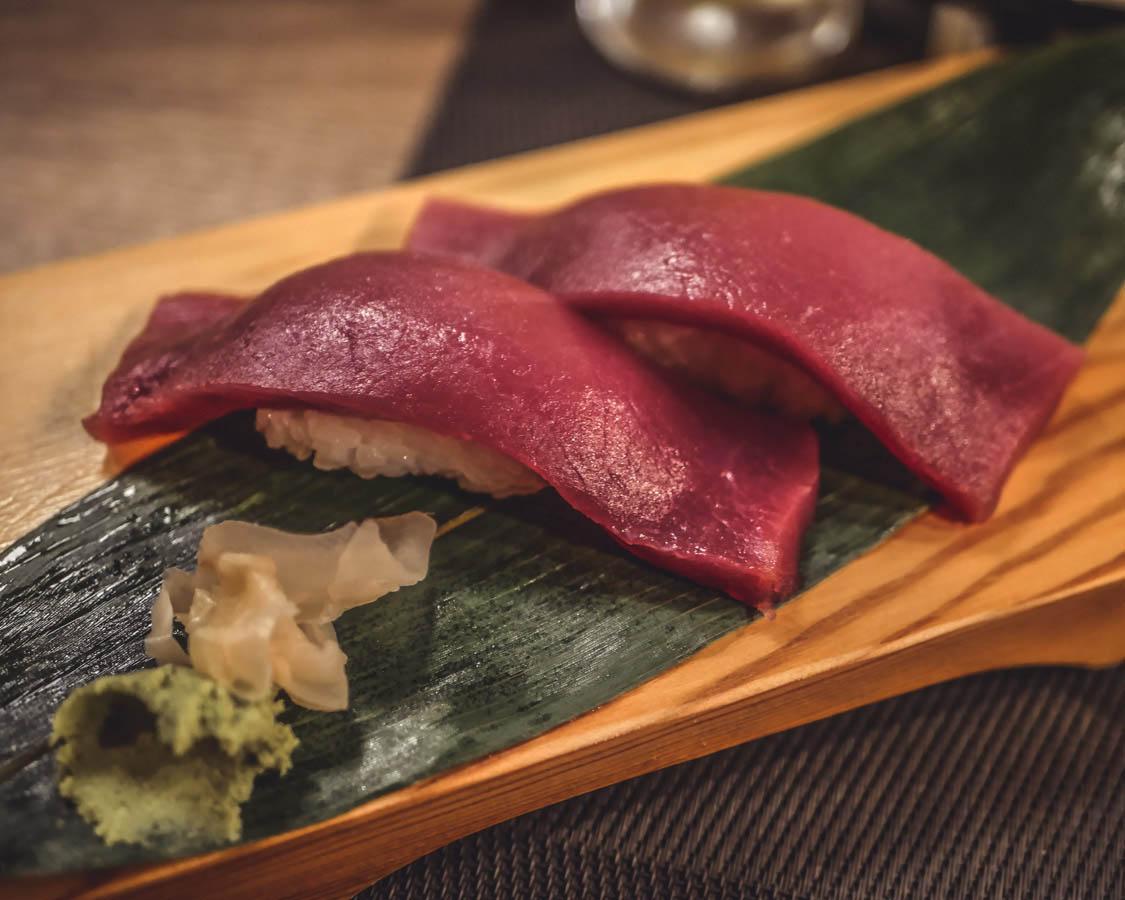 Akatsuki Dijon sashimi thon
