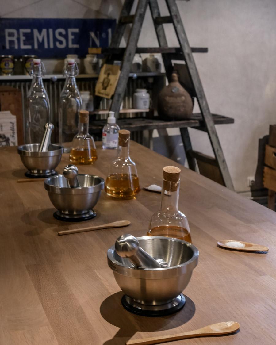 Atelier moutarde de dijon fabrication