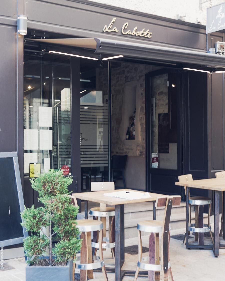 Restaurant la Cabotte