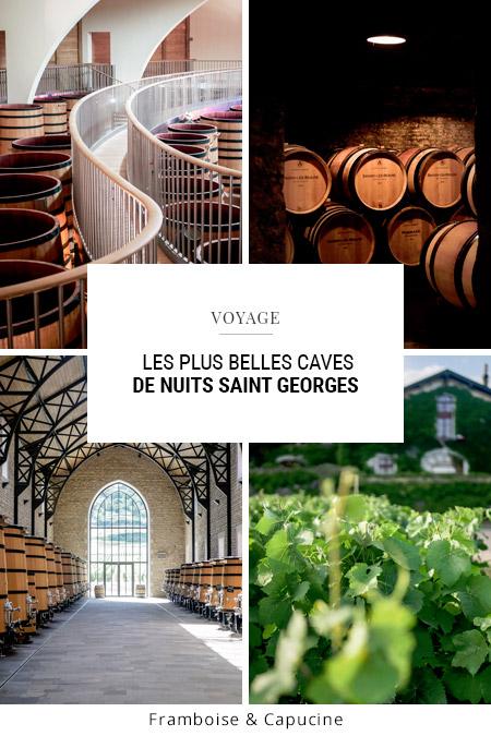 Les plus belles caves de Nuits Saint Georges