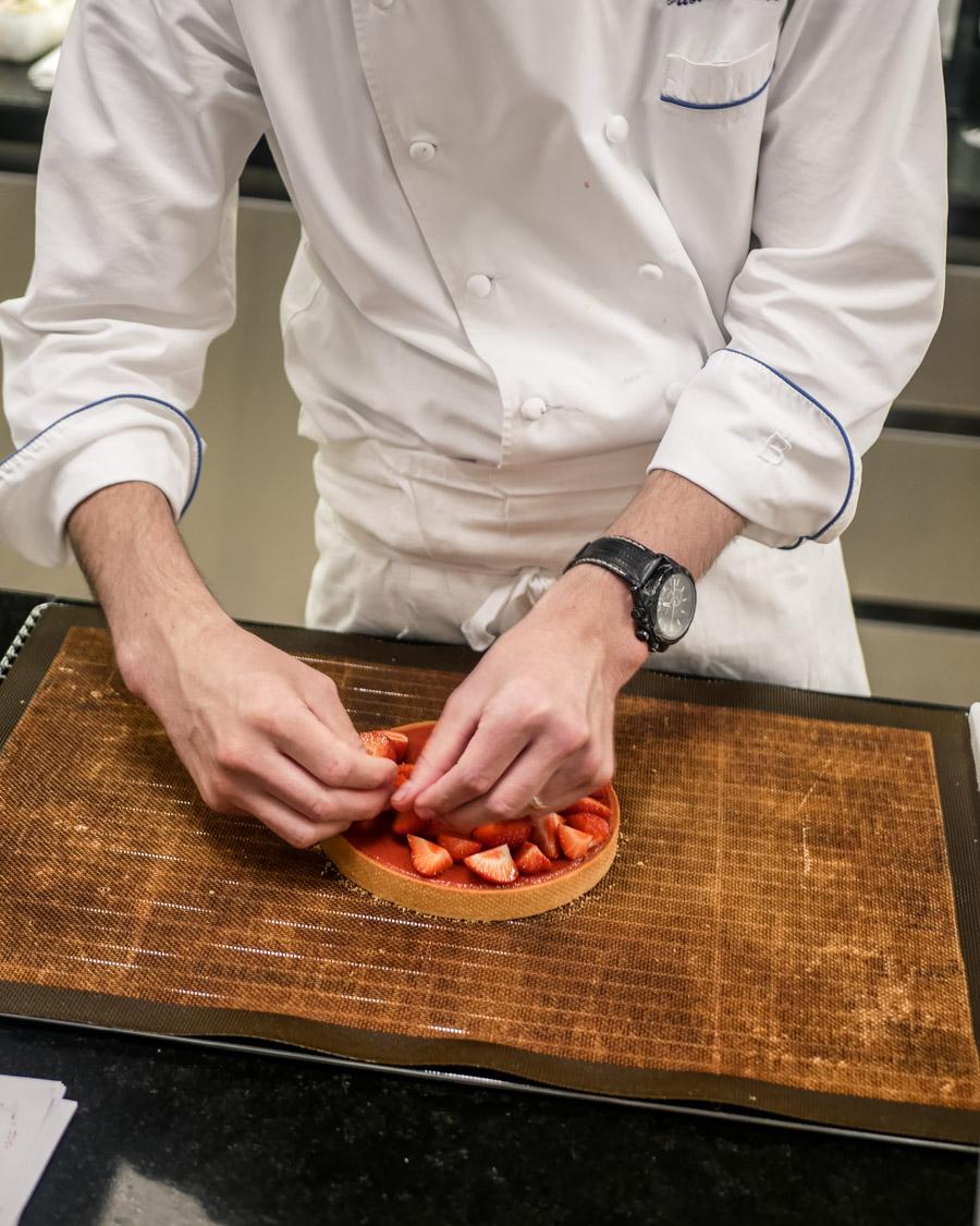 École Ritz Escoffier cours pâtisserie Paris