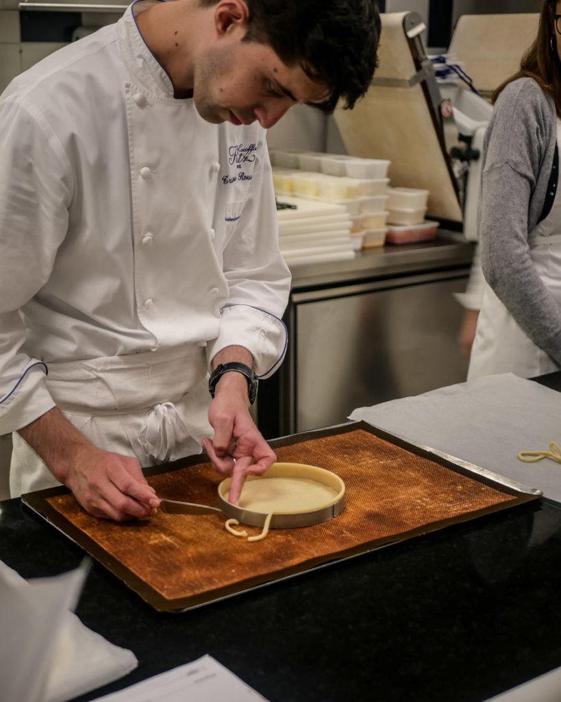 J Ai Pris Un Cours De Patisserie Au Ritz Framboise Capucine