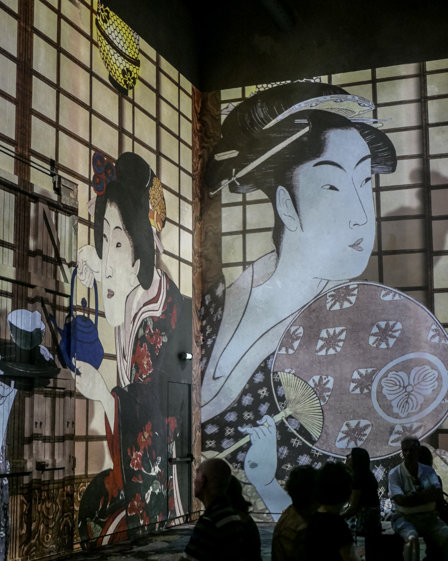 L'Atelier des Lumières Van Gogh exposition