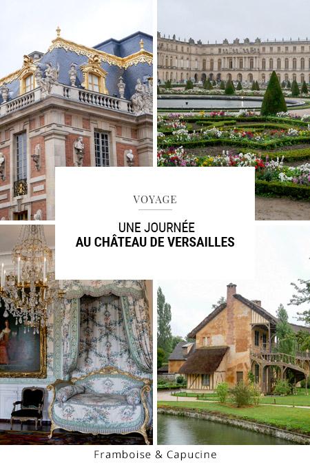 Une journée au Château de Versailles
