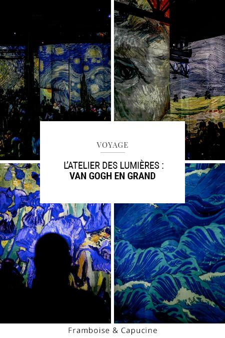 Van Gogh à l'Atelier des lumières