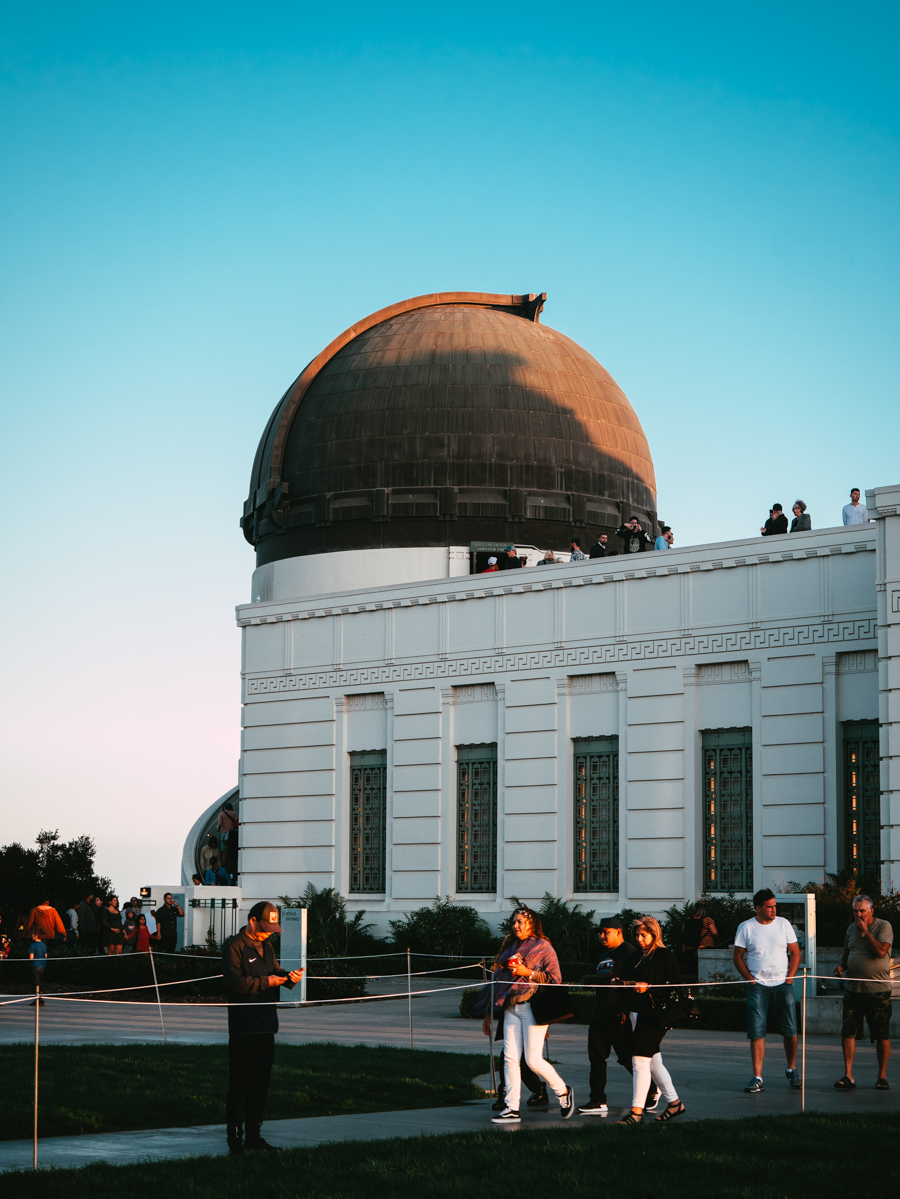 Californie Los Angeles Griffith Observatory