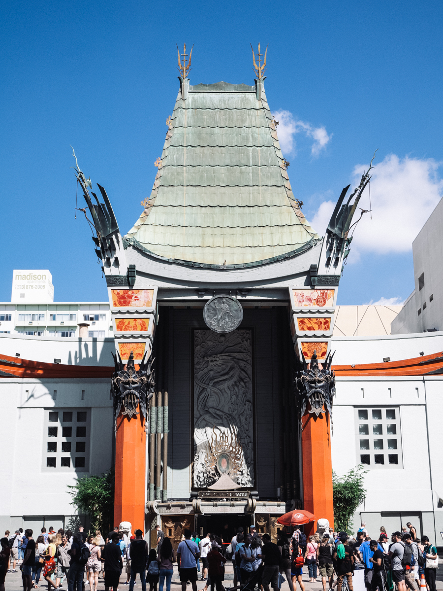Californie Los Angeles Chinese Theater