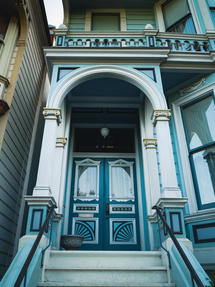 Ouest américain San Francisco maison victorienne
