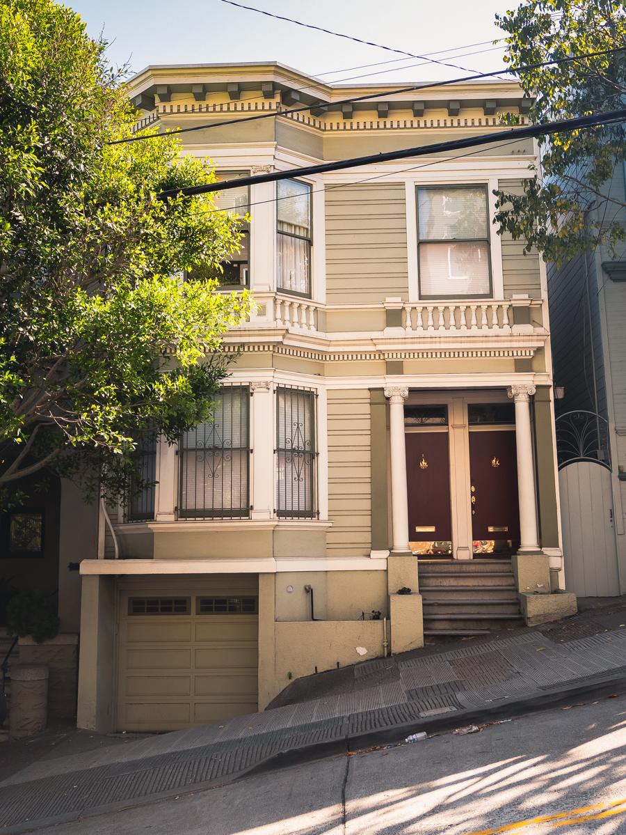 Ouest américain San Francisco Golden maison victorienne