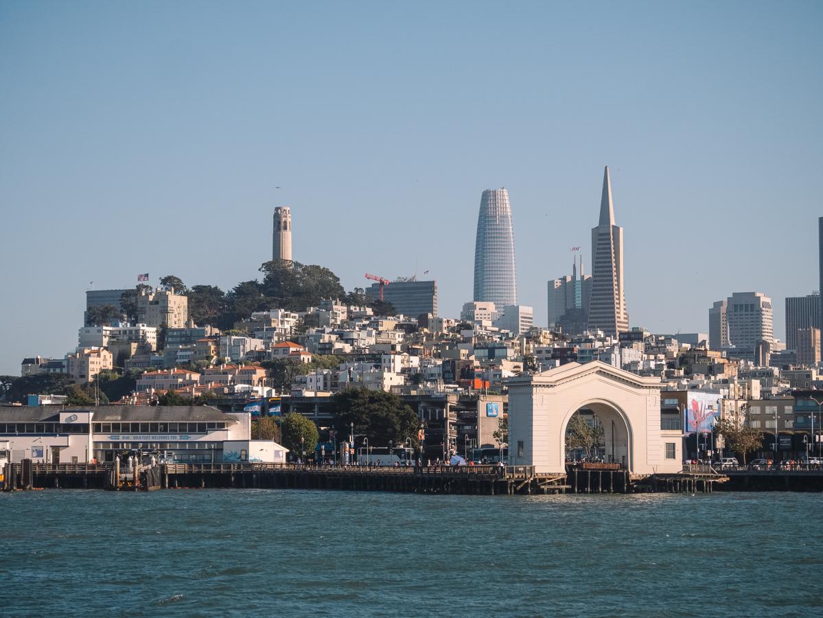 Ouest américain San Francisco baie