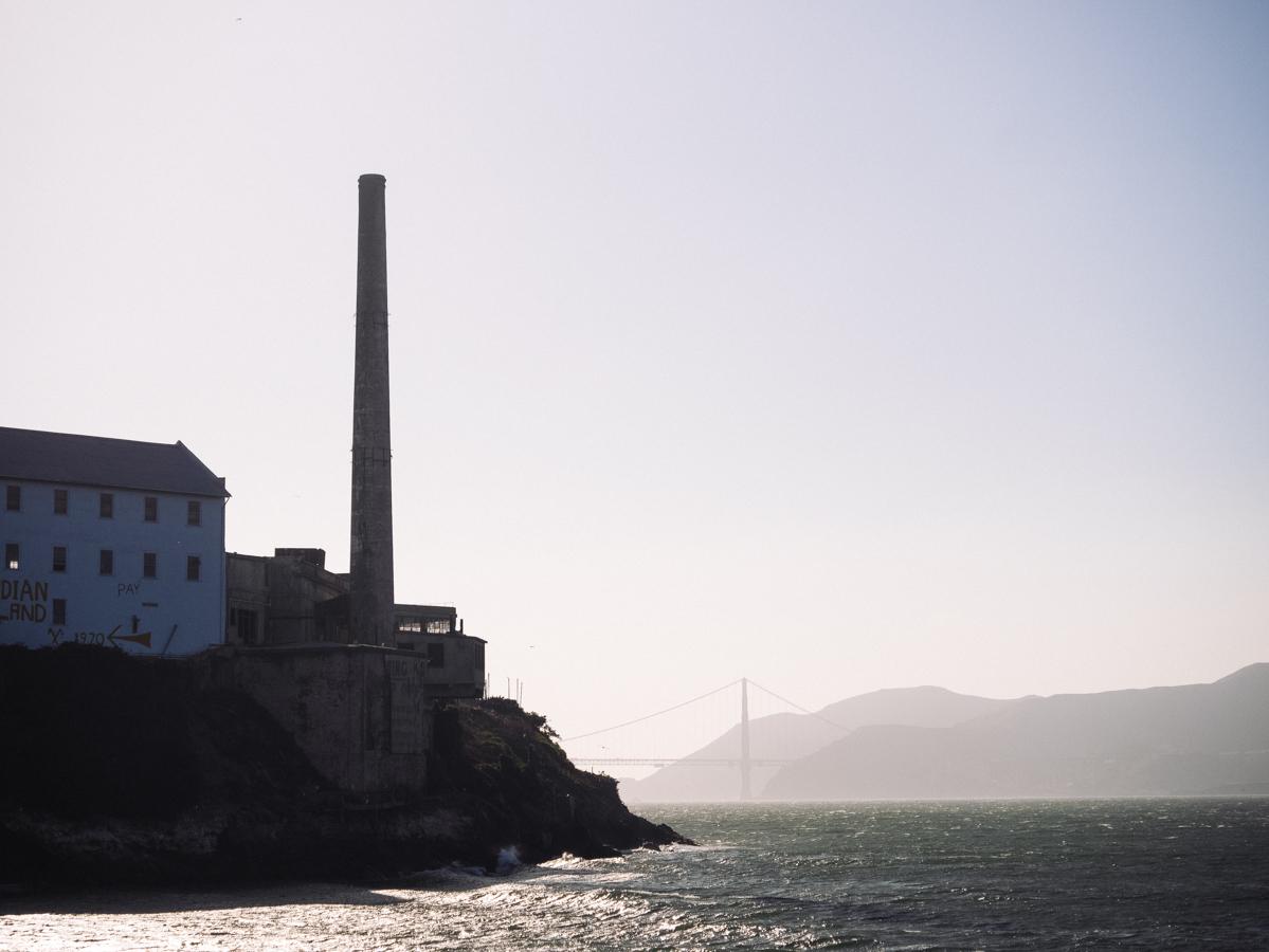 Ouest américain San Francisco Alcatraz