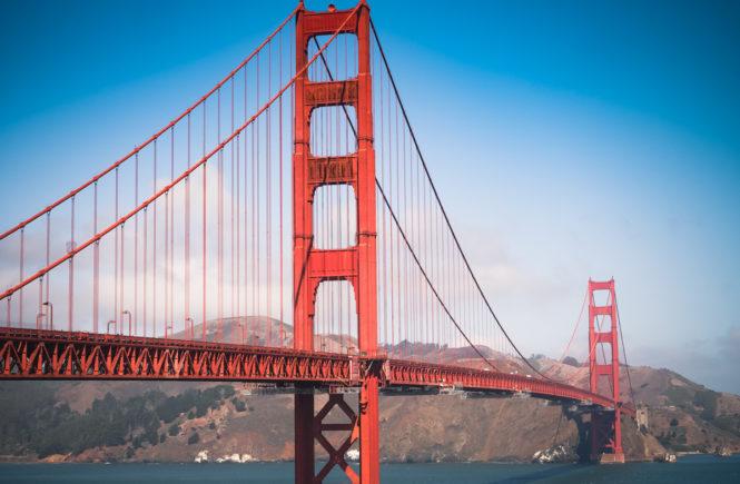 Ouest américain San Francisco Golden Gate