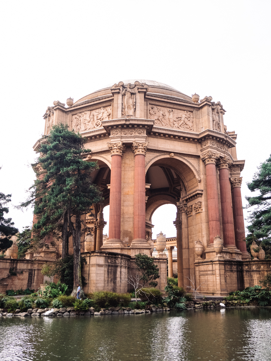 Ouest américain San Francisco Golden Palace of fine arts