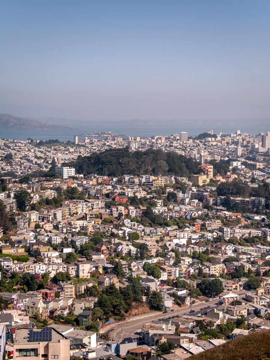 Ouest américain San Francisco Twin Peaks