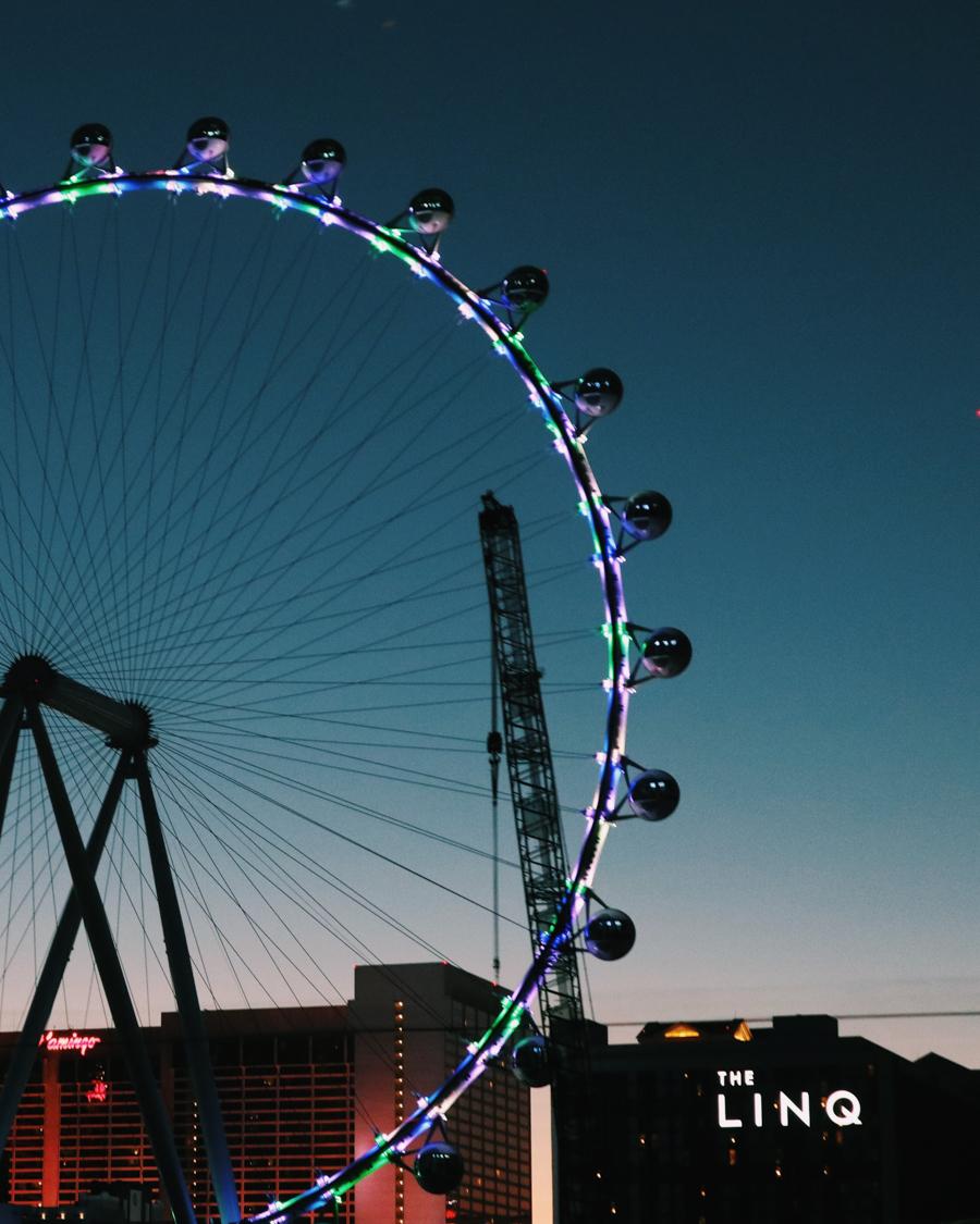 Ouest Américain Nevada Las Vegas High Heel