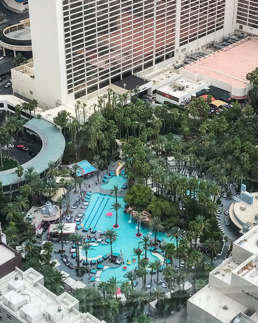 Ouest Américain Nevada Las Vegas Flamingo