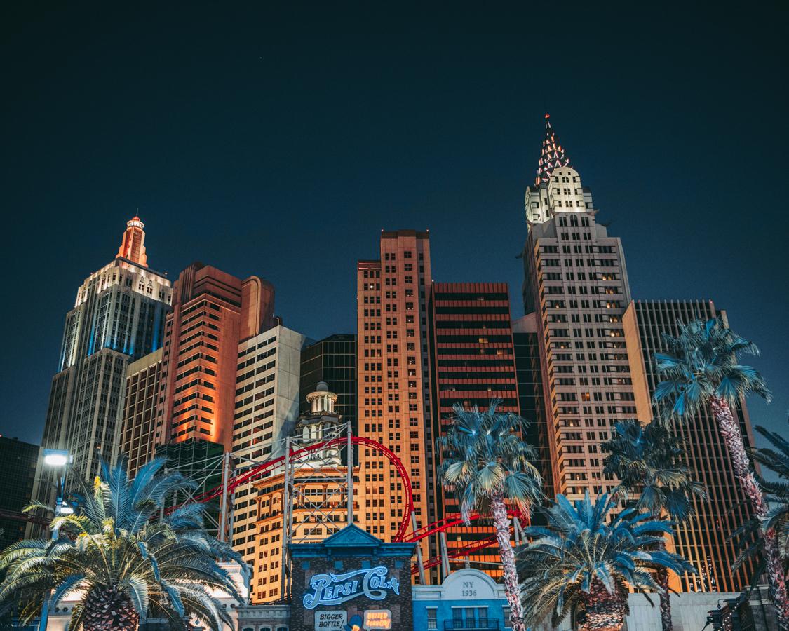 Ouest Américain Nevada Las Vegas New York New York