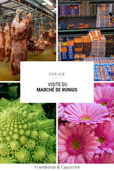 Visite du marché de Rungis