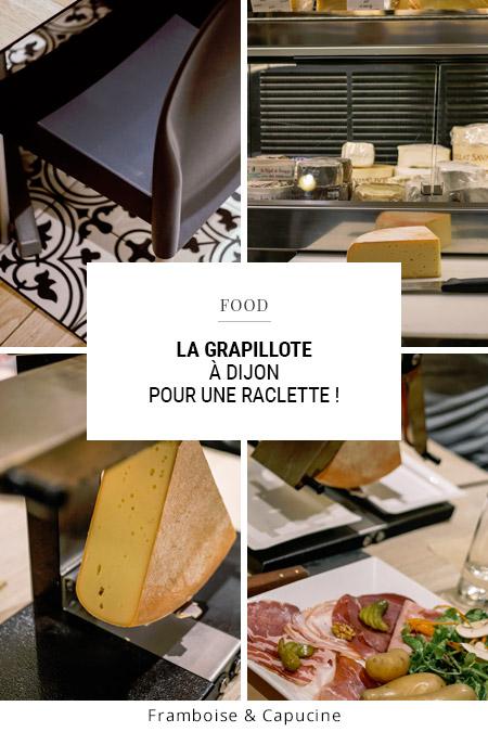 Pour une raclette à Dijon : la Grapillotte