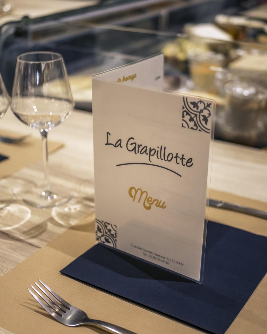 La Grapillotte Ahuy Dijon restaurant